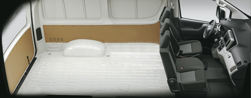 toyota hiace 2.8 // tdi furgón 6at l1h1 3a 4p