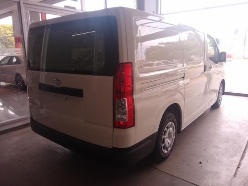 toyota hiace 2.8 tdi furgon 6at l1h1 3a 4p okm 2020