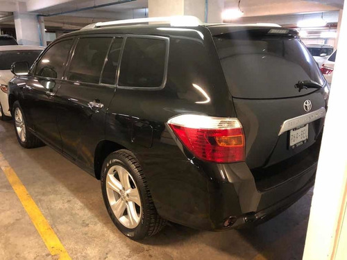 toyota highlander 2010 limited aa qc piel r-19 4x4 at