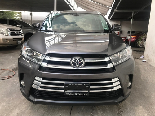 toyota highlander 3.5 limited panoramic roof at gris 2017