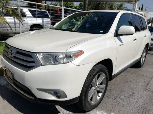 toyota highlander limited aa qc piel r-19 4x4 at