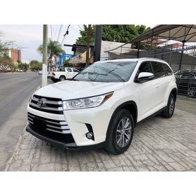 Toyota Highlander Xle 2019 Blanco