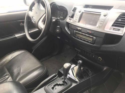 toyota hilux 2014 3.0 srv top cab. dupla 4x4 aut. 4p