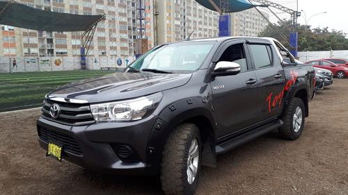 toyota hilux 2016 camionetas 4x4 turbodisel 2.8 particular