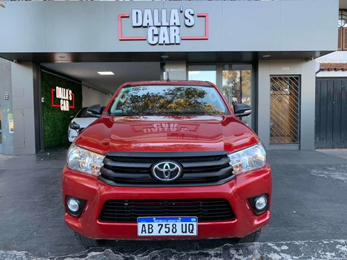toyota hilux 2.4 cd dx 150cv 4x2 2017