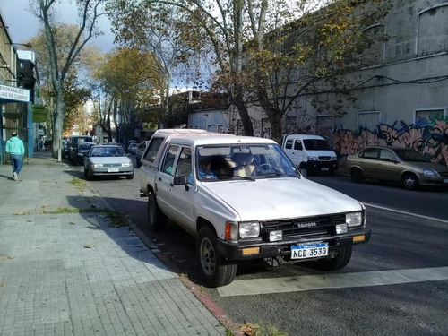 toyota hilux 2.4. doble cabina diesel