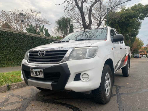 toyota hilux 2.5 cd dx pack 120cv 4x2 2014
