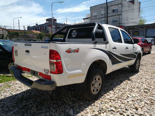 toyota hilux 2.5 cd dx pack 4x4, permuto! financio!!