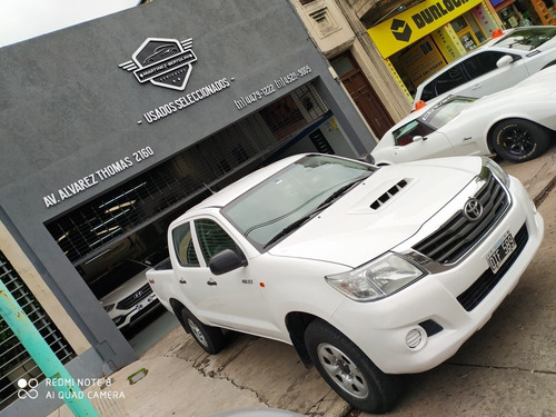 toyota hilux 2.5 cover cs dx pack 4x4 vent m3 2014