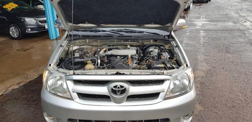 toyota hilux 2.5 std 4x4 cd 16v turbo diesel 4p manual
