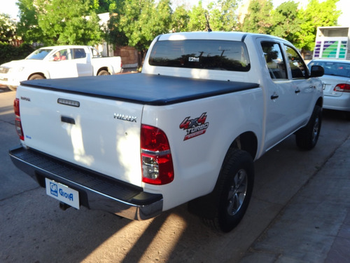 toyota hilux 2.5 tdi dx pack 4x4 2012 diesel blanca