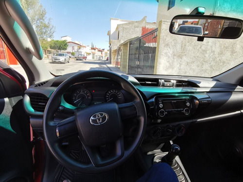 toyota hilux 2.7 cabina doble base mt 2018