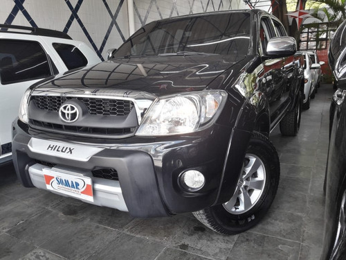 toyota hilux 2.7 sr 4x2 cd 16v gasolina 4p manual 2009