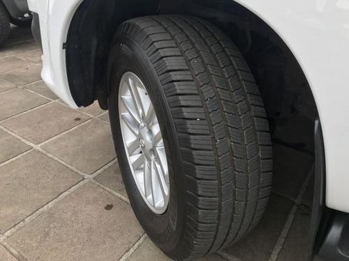 toyota hilux 2.7 sr automático 2015 branco flex