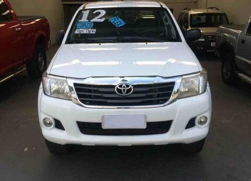 toyota hilux 2.7 sr cab. dupla 4x2 flex aut. 4p 2012