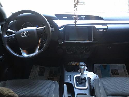 toyota hilux 2.7 sr cab. dupla 4x2 flex aut. 4p 2017