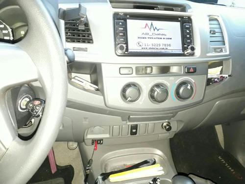 toyota hilux 2.7 sr cab. dupla 4x2 flex aut. 4p impecável