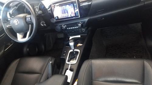 toyota hilux 2.7 srv cab. dupla 4x2 flex aut. 4p 2017