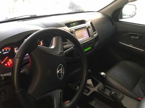 toyota hilux 2.7 srv cab. dupla 4x4 flex aut. 4p 2014