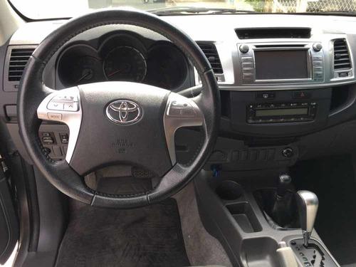 toyota hilux 2.7 srv cab. dupla 4x4 flex aut. 4p 2015