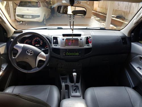 toyota hilux 2.7 srv cab. dupla 4x4 flex aut. 4p