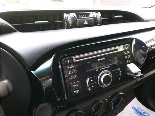 toyota hilux 2.8 4x4 cs 16v turbo diesel 2p manual