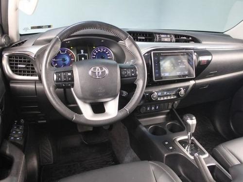 toyota hilux 2.8 srx branca 16v cd 4x4 diesel 4p aut. 2017