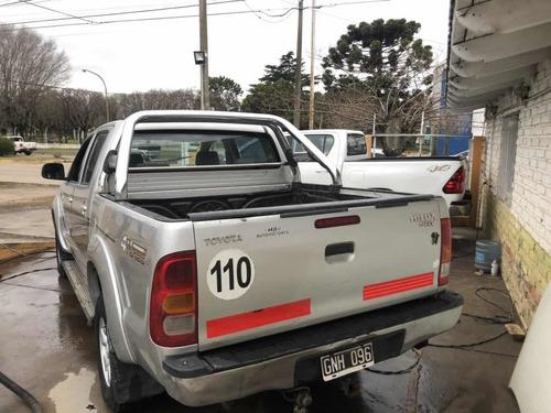 toyota hilux 3.0 d/cab 4x4 srv lim p/2 2007