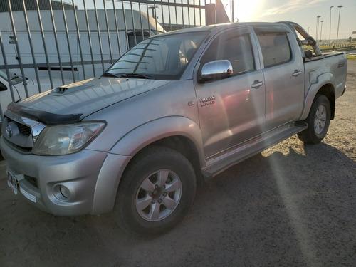 toyota hilux 3.0 srv 171 hp 4x2 2011 (agencia todo camion)