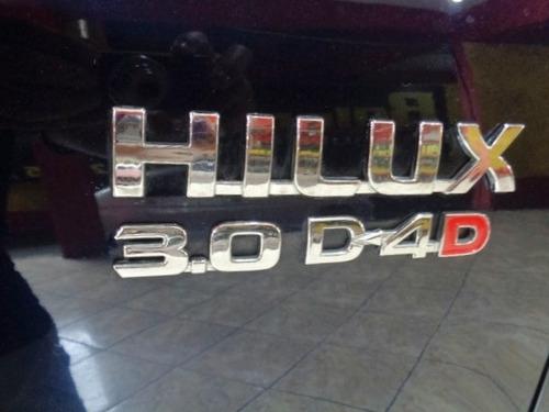 toyota hilux 3.0 srv 4x4 cd 16v turbo intercooler diesel 4p