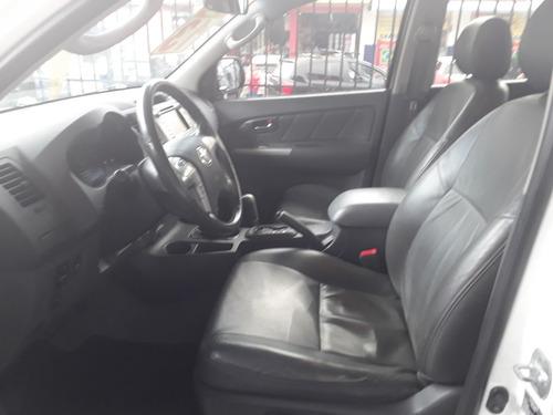 toyota hilux 3.0 srv cab. dupla 4x4 aut. 2013