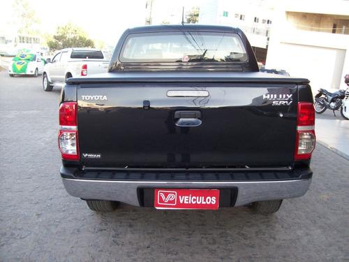 toyota hilux 3.0 srv cab. dupla 4x4 aut. 4p 2013.