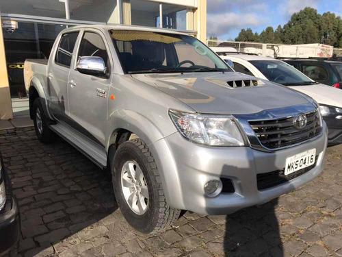 toyota hilux 3.0 srv cab. dupla 4x4 aut. 4p 2013 diesel