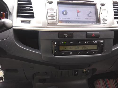 toyota hilux 3.0 srv top cab. dupla 4x4 aut. 4p 171hp