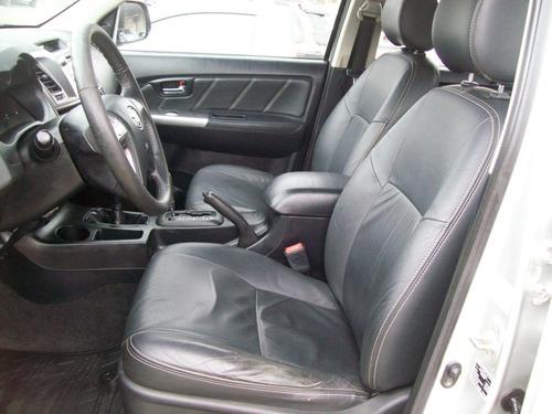 toyota hilux 3.0 srv top cab. dupla 4x4 aut. 4p 2014.