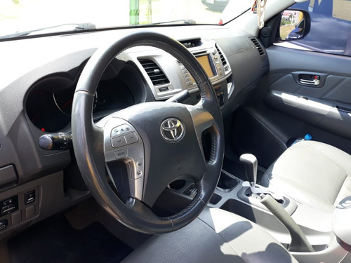 toyota hilux 3.0 srv top cab. dupla 4x4 aut. 4p