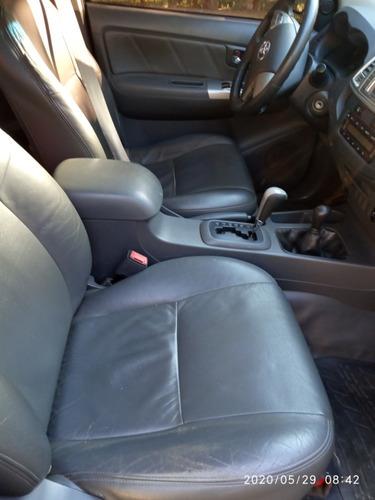 toyota hilux 3.0 srv top cab. dupla cd4x4 aut. 4p