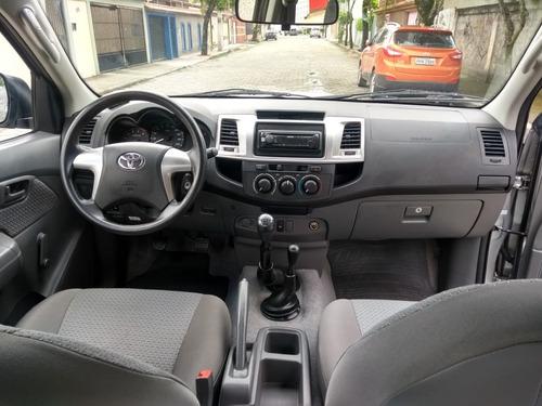 toyota hilux 3.0 std cab. dupla 4x4 4p diesel