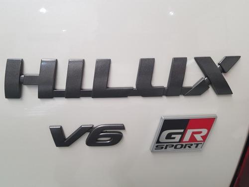 toyota hilux 4x4 gr-s ii v6 vvti at 0km
