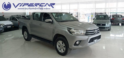 toyota hilux 7400 y 48 cuotas 2.5 2017 impecable!