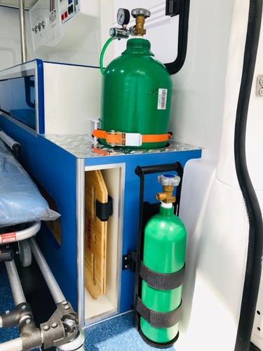 toyota hilux ambulância 4x4 suporte básico