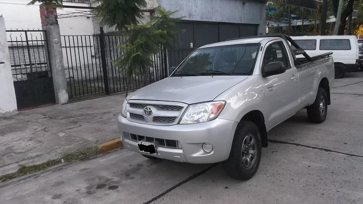 Foto Cabina Mercadolibre : Toyota hilux cabina simple  en mercado libre