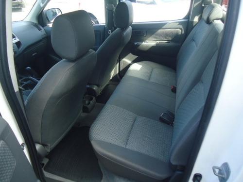 toyota hilux caminhonete 2.7 16v 4p sr flex cabine dupla aut