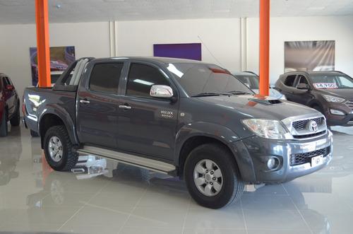 toyota hilux crew cab 4x4 2009 srv 3.0 turbo diesel