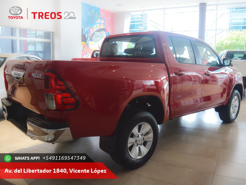 toyota hilux doble cabina 4x2 financiada a tasa 0%