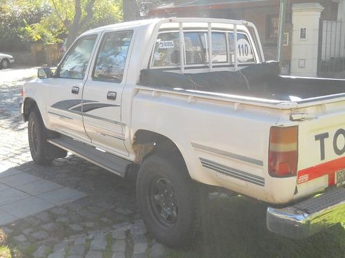 toyota hilux doble cabina dlx 4x4 año 1994