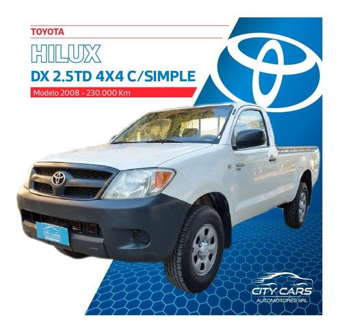 toyota hilux dx 2.5 td 4x4