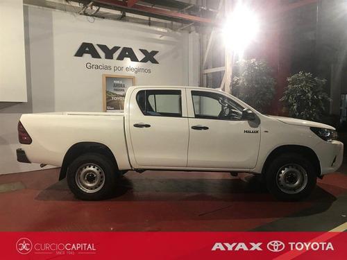 toyota hilux dx 4x2 diesel 2020 blanco 0km