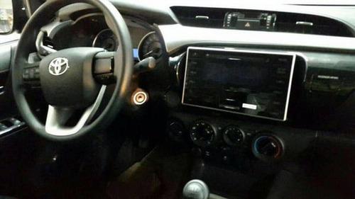 toyota hilux dx 4x2 dx 2.4 4 puertas cabina doble