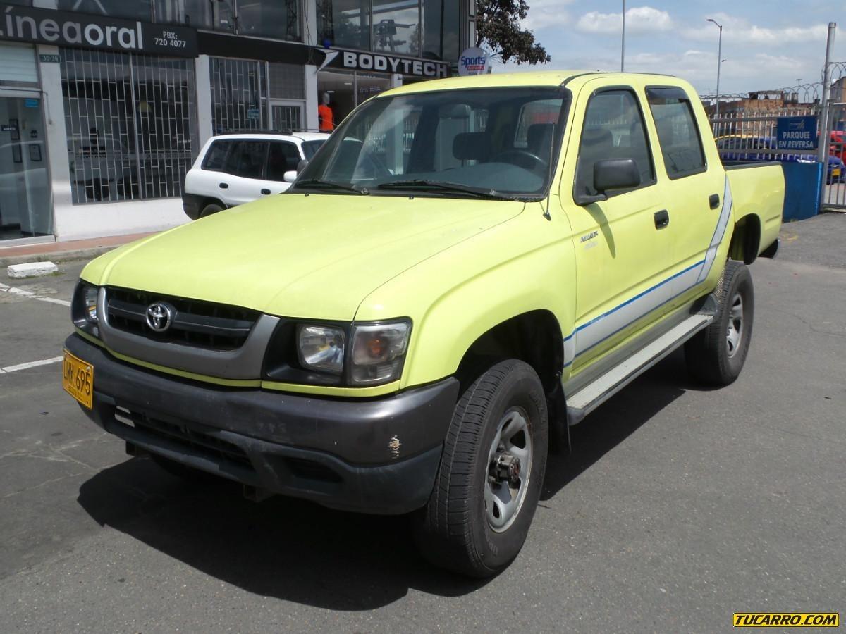 Tu Carro Com >> Toyota Hilux Ex Hi Rider Mt 2400cc Sa